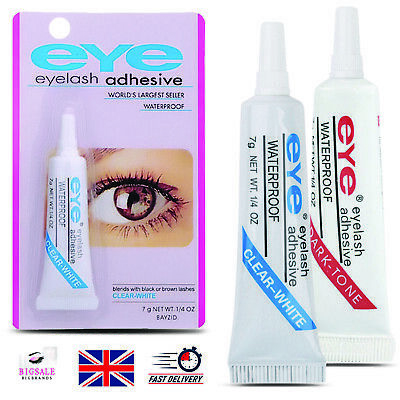 EYE-DUO Eyelash Glue 7g Adhesive Strong Clear/Black Waterproof False Eyelashes