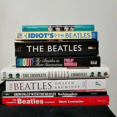 Lot of 8 ~  The Beatles ~ Misc. Books from Beatle Collector ~ See Below