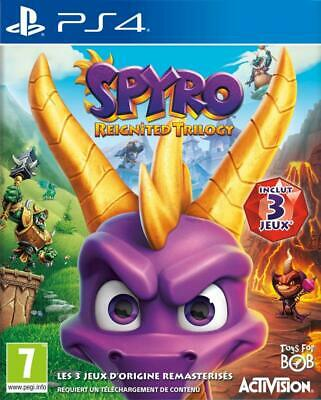 Spyro Reignited Trilogy Jeux Video Gaming Playstation 4 Ps4