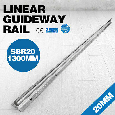 1300mm Supported Linear Rail Shaft Linear Slide 20mm 1300mm Mills Lathes NEWEST