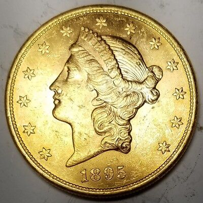 1895-S Gold Liberty Head-Mint State / Uncirculated -MS