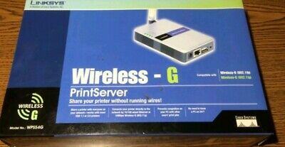 LINKSYS WIRELESS G PRINT SERVER WPS54G TELECHARGER PILOTE