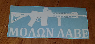 Decals & Stickers BARRETT REC7 5.56 NATO WRECKING 6.8 SPC CREW Sticker & BONUS FLAG DECAL! Sporting Goods