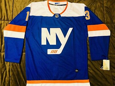 size 40 81101 e741e MEN'S 2018-19 NEW York Islanders Mathew Barzal Premier Third Jersey, XL, NWT
