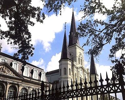 St. Louis Cathedral and Cabildo New Orleans by Britt Johnson Signed and Numbered