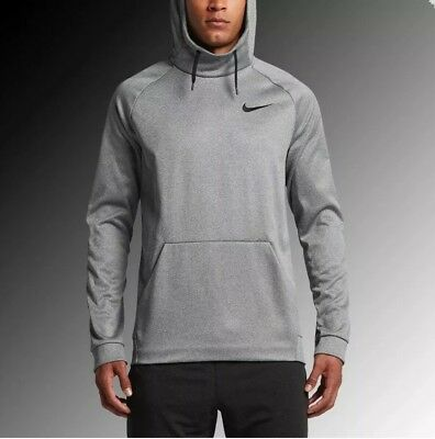 4151b5b6 Nike Therma Fit hoodie pullover Sweatshirt 826671 091 carbon heather Size  2XLT