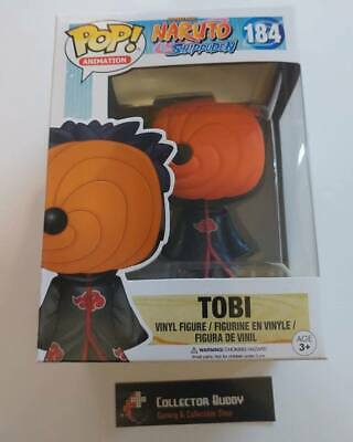 Funko Pop! Animation 184 Naruto Shippuden Tobi Vinyl Action Figures FU12452