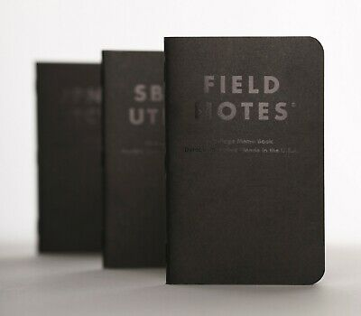 Field Notes Quarterly Edition: Clandestine Dot-Graph 3-Pack Memo Book