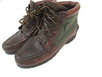 744813e823d VINTAGE TIMBERLAND GORE Tex #577334 Leather Waterproof Boots USA Size 7.5  Mens