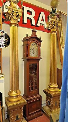 MC Lilley Military Masonic Pillars, Columns Celestial & World Globe Antique VTG