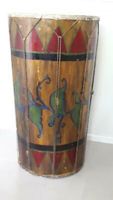 Unique ceremonial drum from Indonesia.
