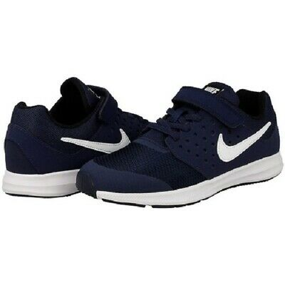 e1c68785622b Kids Nike Downshifter 7 Sneakers Shoes 869968 400 Navy White 100% Authentic  New