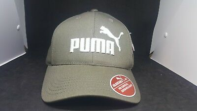 huge discount db46b 6e2d8 PUMA Relaxed Fit Adjustable Hat Men Cap grey white