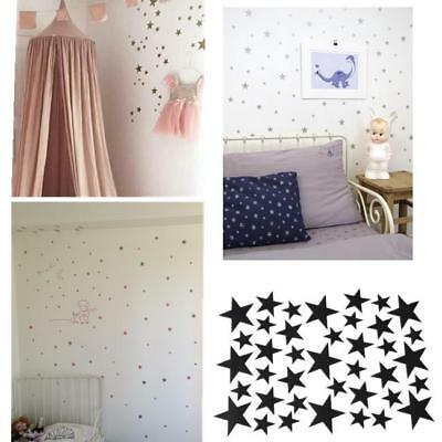 Stars Wall Sticker DIY Baby Nursery Bedroom Home Decoration Removable D