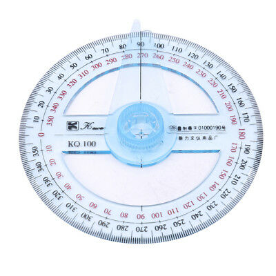 Protractor Ruler Angle Finder Swing Arm 360 Degree Pointer Tool D
