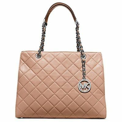9766c1e88e39 $398 MICHAEL Michael Kors Susannah Large Shoulder Tote (Blush) GORGEOUS!
