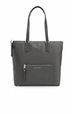 fb5017001ce1 Nwt Michael Kors Ariana Large North South Tote Shoulder Bag Graphite Gray