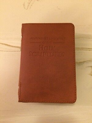 NEW WORLD TRANSLATION POCKET BIBLE COVER, Jehovah's Witness