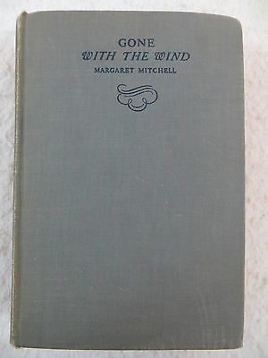 Margaret Mitchell GONE WITH THE WIND The Macmillan Company 1938