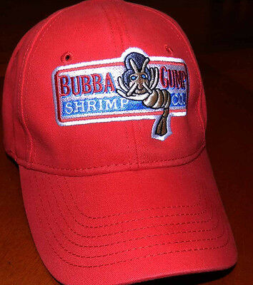 Bubba Gump Shrimp CO Hat Forrest Gump Costume Embroidered Snapback Cap IN9