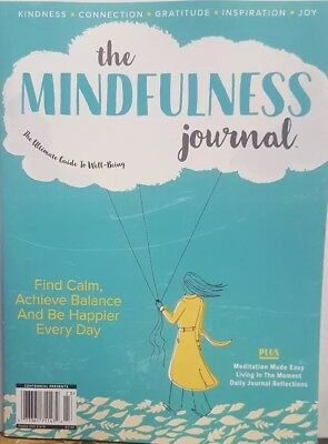 The Mindfulness Journal The Ultimate Guide to Well Being FREE SHIPPING CB