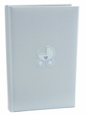 Baby Boy Blue Quality Photo Safe Archival 300 Slip In Photo Album Baby Boy Gift