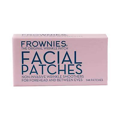 Frownies - 144 Facial Patches for Wrinkles on the Forehead & Between Eyes (FBE)