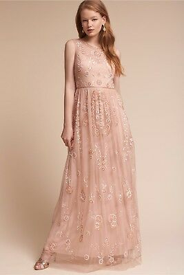 b1fb6a54374f New BHLDN Adrianna Papell Abbington Beaded Gown Special Occasion Size 6