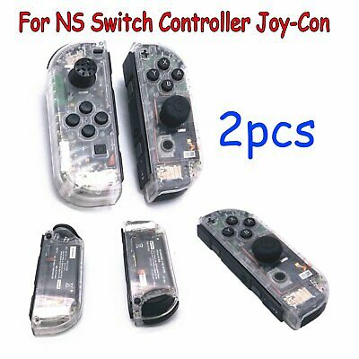 2*Housing Shell Case Cover Set Compatible for NS Switch Game Controller Joy-Con