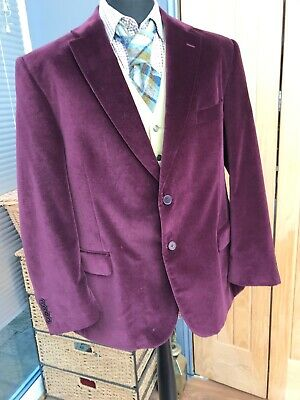 Men's Clothing Nice Vintage Mens Playboy Two Button Jacket Blazer Sports Coat Brown Soft And Antislippery Suits & Suit Separates