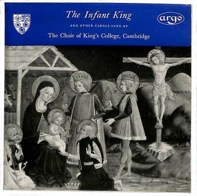"""The King's College Choir Of Cambridge - The Infant King And Other Carols - 7"""""""
