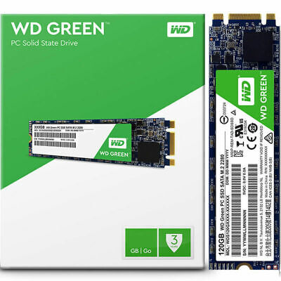 WD 120GB M.2 2280 Solid State Drive Internal SSD SATA Green Series New