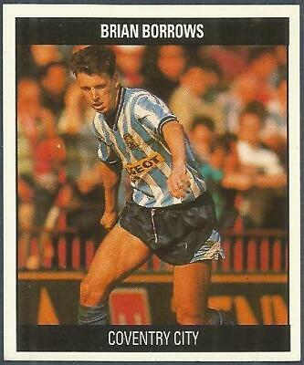 Orbis 1990 Football Collection-#F015-Coventry City-Brian Borrows