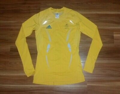 Australia Youth Olympic Games Ladies Training lycra Top Womens Size Large