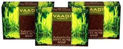 VAADI HERBALS BECALMING Tea Tree Soap Anti Acne Therapy