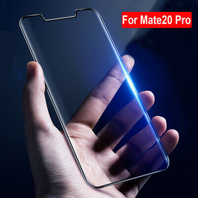 9H 6D Curved Tempered Glass Screen Protector for Huawei P30 Pro/Mate 20 Pro Film