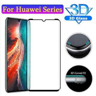 9D Tempered Glass Film Protector for Huawei P30 Lite/P Smart Y7 Y9 2019 Screen