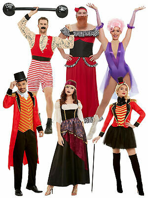 Mens Ladies The Greatest Showman Circus Fancy Dress Costumes Couples Ringmaster