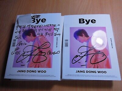 Jang Dong Woo (Infinite) - Bye (1st Mini promo) with Autographed (Signed) 19.99