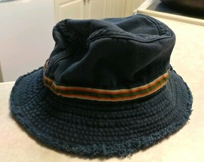1df3338b EDDIE BAUER BLACK Goose Down Bucket Hat Cap One Size - $9.00 | PicClick