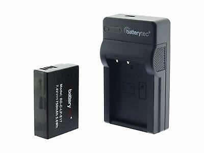 Battery for CANON LP-E17 and Micro USB Charger for CANON LP-E17