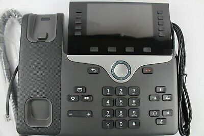 CISCO CP-8841 VOIP IP Color LCD Display PoE Desktop Video