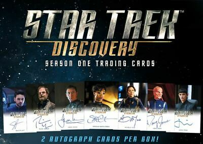 Star Trek Discovery Season 1 Master Set III + Binder