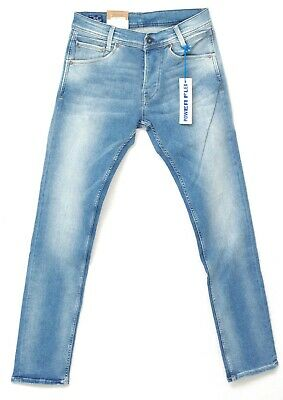 eaeb202bee6 PEPE JEANS SPIKE jean slim fit stretch homme bleu clair PM200029H69 Power  Flex