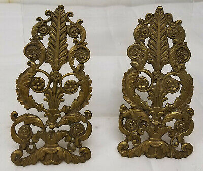 Antique French Gilt Bronze Brass Decorative Architectural Salvage Accents