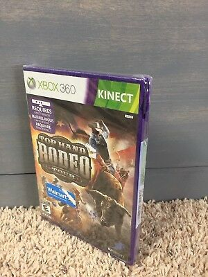 TOP HAND RODEO Tour - Xbox 360 Game Used TESTED - $9 25