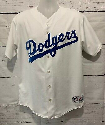 33b06a7e Vintage White Majestic Los Angeles Dodgers MLB Jersey Blank Made In USA  Men's