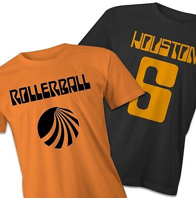 Rollerball T-Shirts, inspired  y the classic 70's movie, sc-fi tee, movie shirt