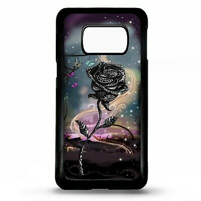 Rose fairy tale flower tattoo art case cover for Samsung Galaxy S10 S10e plus