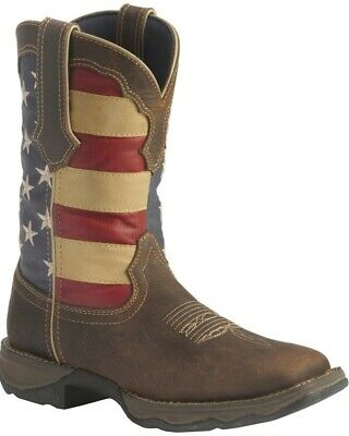 da60f9e9ce3 LADY REBEL BY Durango Patriotic Pull-On Western Flag Boots Rd4414 ~ New Big  Deal